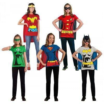 details  female superhero costumes adult  shirt
