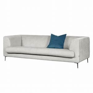 Sofa Grau Günstig : sofa sombret 3 sitzer webstoff grau g nstig bestellen ~ Watch28wear.com Haus und Dekorationen