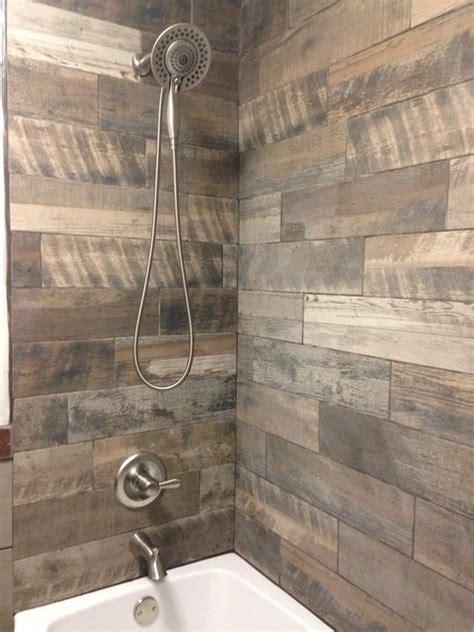 easy to install kitchen backsplash 15 wood inspired shower tiles digsdigs inspo from hgtv
