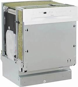 Façade Lave Vaisselle Encastrable : lave vaisselle whirlpool adg8942wh au meilleur prix ~ Dailycaller-alerts.com Idées de Décoration