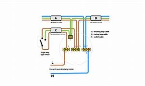 Wiring A Ceiling Light Diagram