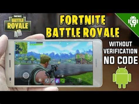 fortnite android    human verification fortnite