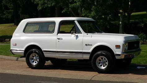 Door Suv by All American Classic Cars 1971 Chevrolet K5 Blazer 2 Door Suv