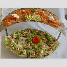Kalte Platten Lachs Und Forellenplatte  Ein Kochmeister