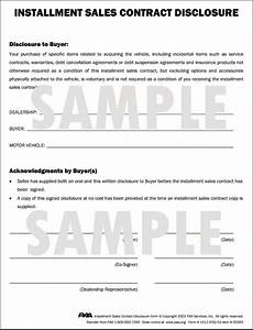8 1 2quot x 11quot forms in pads of 100 With installment sale agreement template