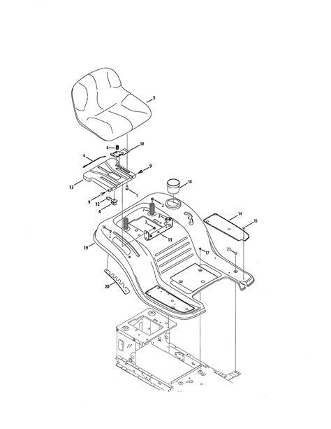 Sears Garden Tractor Parts by Craftsman Tractor Parts Model 247288842 Sears Partsdirect