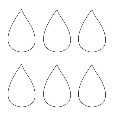 raindrop template printablejpg  templates