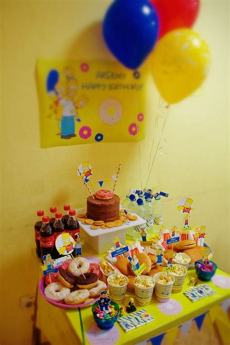 foto de 67 best images about The Simpson's Party on Pinterest
