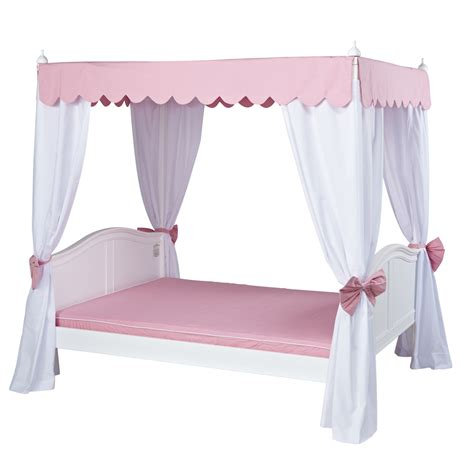 Victoria 2 Full Size Canopy Bed By Maxtrix (2652