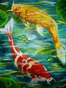61 best Koi images on Pinterest | Chinese painting, Fish ...
