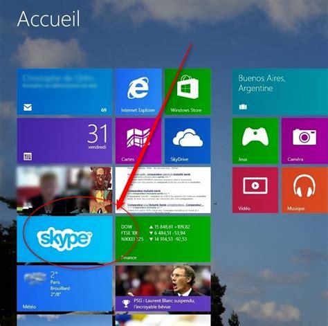 skype windows 8 bureau infos technos informatique vidéos hifi photos