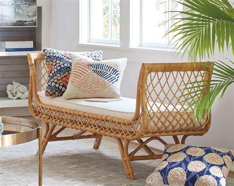 canape contemporain meubles en rotin pour un salon naturel et contemporain cocon de décoration le
