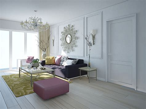 Classic White Living Room Ideas