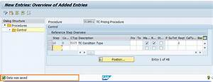 Sap Sd Define Pricing Procedure