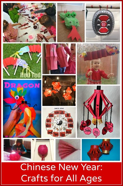 15 new year crafts preschool through elementary 115 | 11814Chinese New Years Crafts