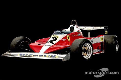 first ferrari race car ferrari s landmark f1 cars villeneuve s first race winner