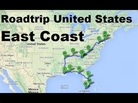 east coast road trip itinerary us east coast road trip map east coast usa tour itinerary thempfa org