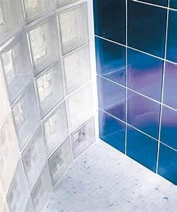 Pose Paroi De Douche : la rochere architecture du verre briques de verre ~ Dailycaller-alerts.com Idées de Décoration