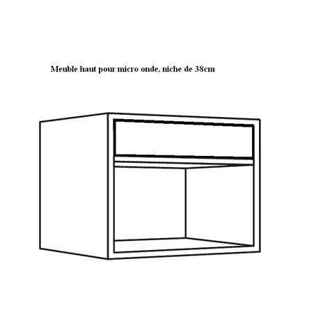 hauteur meuble de cuisine meuble haut pour micro onde