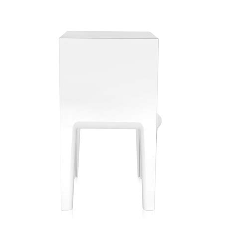 comodini kartell ghost buster kartell comodino small ghost buster bianco pmma