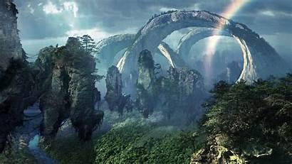 Floating Island Landscape Avatar Wallpapers Pandora Fantasy