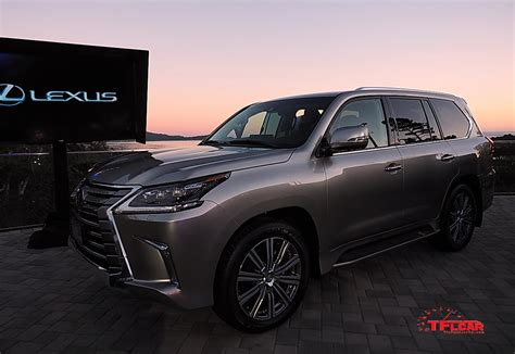 Refreshed 2018 Lexus Lx 570 Unveiled At Pebble Beach The