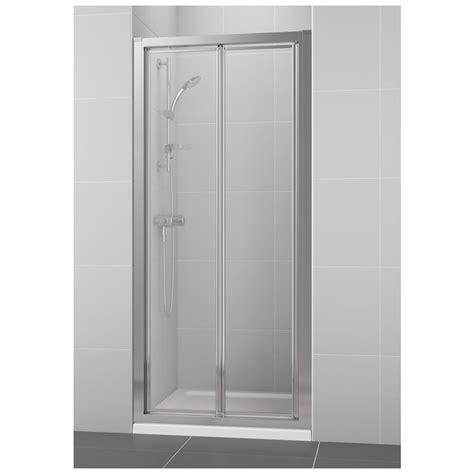product details  mm bifold shower door ideal