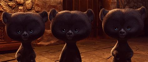 Baby Bears GIF - BearCubs BabyBears Brave - Discover ...