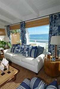 1000 idees a propos de rideaux marine bleus sur pinterest With peindre son salon en gris et blanc 7 la decoration marine en 50 photos inspirantes