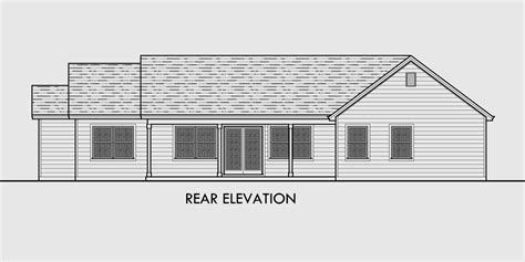 great room house plans one single level house plans one house plans great