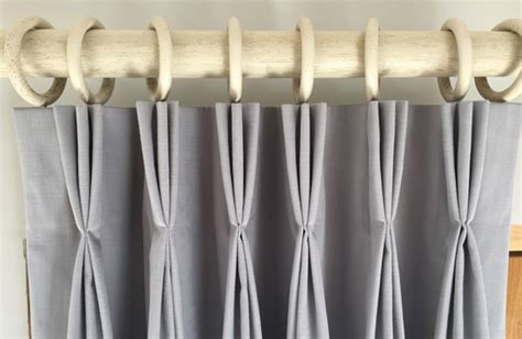 tutorial how to make pleated lined curtains