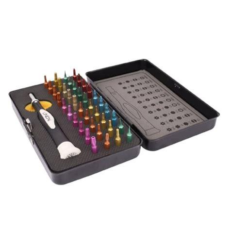 40 colour coded precision screwdriver torx set