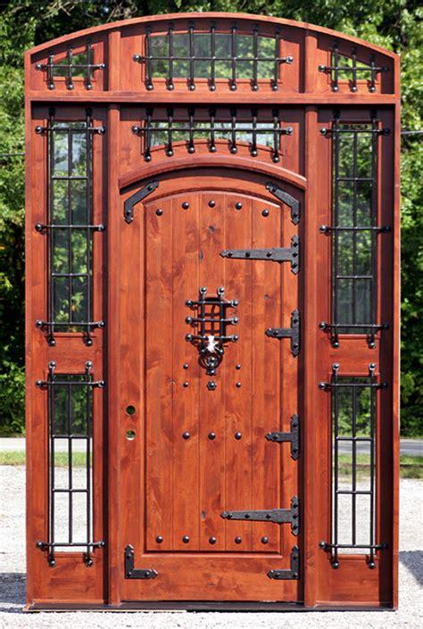 rustic front doors exterior doors for in chicago mahogany doors wood