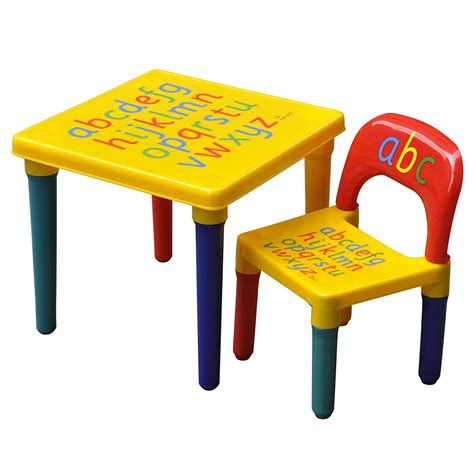 plastic table and chairs kids furniture glamorous plastic chairs