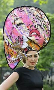 Designer Umbrella Hat The Most Outrageous Ascot Hats Njoy Millinery