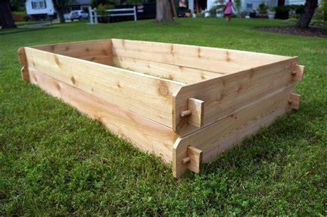 Two 3x6 Cedar Raised Garden Bed Kits Raised Planter
