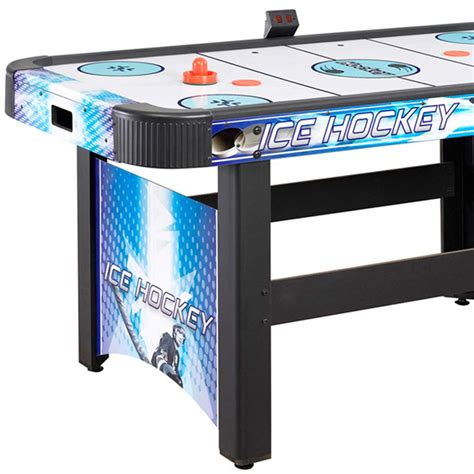 arcade quality air hockey table face off 5 ft air hockey table with electronic scoring