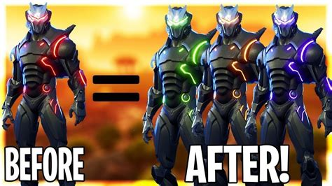Custom Omega Skin😱😱how To Change Omega Colors🔥new Update