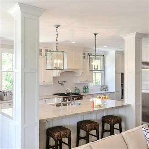 kitchen island columns best 25 kitchen island pillar ideas on cheap