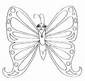 HD Wallpapers Coloring Page Butterfly Net Dhdde3dtk