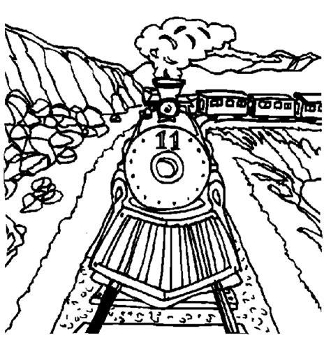Trein Kleurplaat Ns by Kleurplaten En Zo 187 Kleurplaat Trein