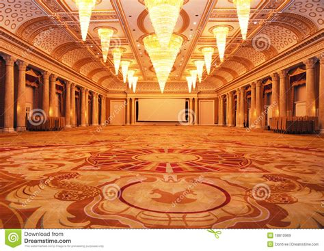 Marble Floor Tiles Bathroom by Grand Luxurious Hotel Hall Royalty Free Stock Images