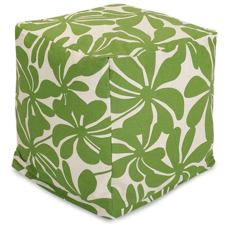 outdoor pouf ottoman outdoor floor poufs best decor things
