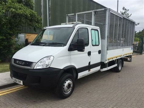 2011 Iveco Daily 70c18 Cage Caged Tail Lift Dropside