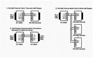 Rs485 Half Duplex Wiring Diagram