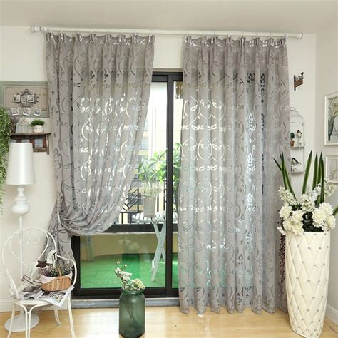 modern curtain kitchen ready  bronze color curtains