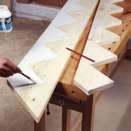faire un escalier comment fabriquer un escalier d ext 233 rieur en bois yan