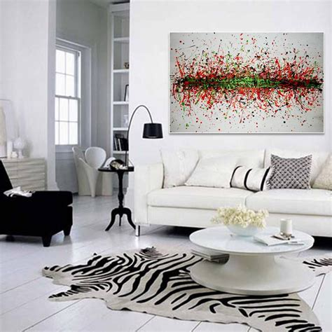 32 Abstract Painting For Living Room The Covetable