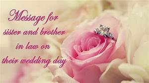 best wishes and message for sister and brother in law on With wedding cards messages for sister