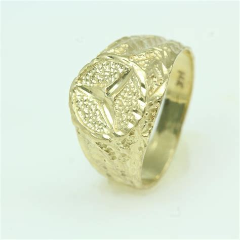 mercedes ring 14kt gold 4 2g ring with mercedes logo property room